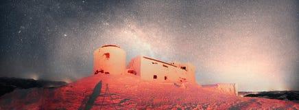 Observatorio antiguo de Cárpatos Fotografía de archivo libre de regalías