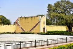 Observatorio astronómico Jantar Mantar, la India Imagen de archivo libre de regalías
