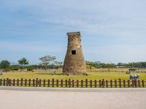 Observatorio de Cheomseongdae en Gyeongju imagenes de archivo