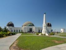 Observatorio de Griffith, ángeles del Los, California, los E.E.U.U. fotografía de archivo