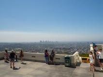 Observatorio de Griffith, ángeles del Los, California, los E.E.U.U. foto de archivo
