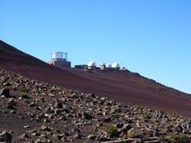 Observatorio de Haleakala Imagen de archivo libre de regalías