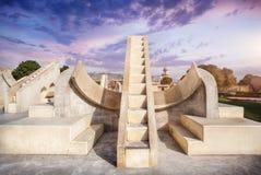 Observatorio de Jantar Mantar fotos de archivo