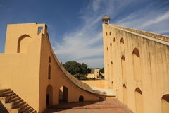 Observatorio de Jantar Mantar (Jaipur) Imagen de archivo