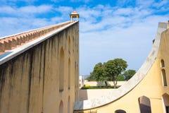 Observatorio de Jantar Mantar, Jaipur, la India fotos de archivo libres de regalías