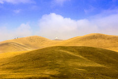 Observatorio de la montaña fotografía de archivo