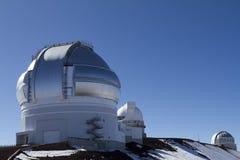 Observatorio de Mauna Kea Imagenes de archivo