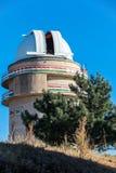 Observatorio del espacio de Sanglok en Nurek Tayikistán Imagenes de archivo