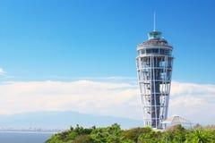 Observatorio del faro de Enoshima imagen de archivo