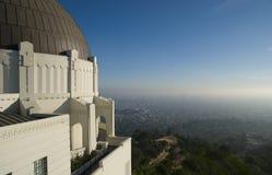 Observatorio del parque de Griffith en Los Ángeles, los E.E.U.U. imagen de archivo