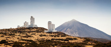 Observatorio del Teide (Teide Observatory) Royalty Free Stock Images
