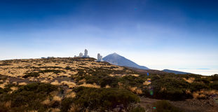 Observatorio del Teide (Teide Observatory) Stock Photos