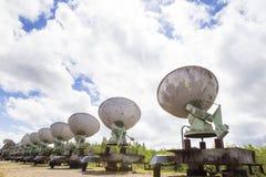 Observatorio solar en Siberia del este Fotografía de archivo