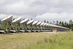 Observatorio solar en Siberia del este Fotos de archivo libres de regalías