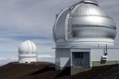 Observatorios Hawaii de Mauna Kea fotografía de archivo