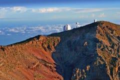 observatorium över skyen Arkivfoton
