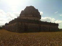 Observatorium di Maya Chichen Itza antica (2) Immagine Stock Libera da Diritti