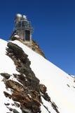 Observatorium för hög höjd för sfinx i det Jungfraujoch passerandet i Switzer Royaltyfria Foton