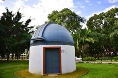 Observatorium im Stadtpark in Marbella-Provinz Màlaga Andalusien Spanien Stockfotografie