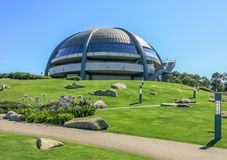 Observatorium in Monte San Pedro Park, La Coruna, Spanien lizenzfreies stockbild