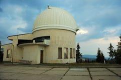 Observatorium på solnedgången Royaltyfria Foton