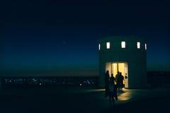 Observatoriumhiss arkivbilder