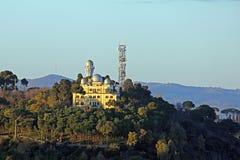 Observatoru Monte Mario lizenzfreie stockfotografie