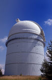 Observatory. With blue sky and clouds Royalty Free Stock Photos