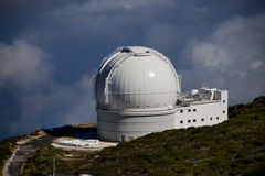 Observatory. The Observatory on La Palma, Spain Stock Image