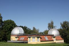 The observatory of Aarhus Stock Photography