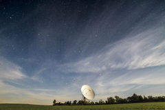 Observatory antenna. Receives signals from space Royalty Free Stock Image