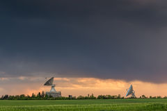 Observatory antennas Royalty Free Stock Image