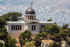 Observatory Athens Greece Stock Image