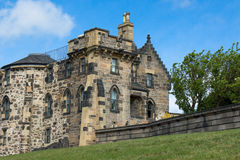 Observatory building in Calton Hill Stock Photography