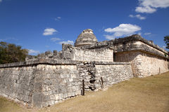 Observatory at Chichen itza Stock Photo