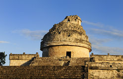 The observatory at Chichen Itza, Stock Photography