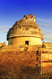 The observatory at Chichen Itza,. Mexoco, Yucatan Royalty Free Stock Image