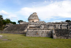 The Observatory, Chichen Itza Royalty Free Stock Photography