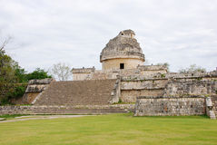 Observatory in Chichen Itza Royalty Free Stock Photo