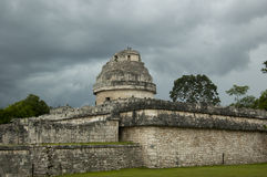 Observatory Cichen Itza Royalty Free Stock Image