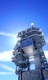 Observatory control tower structure Royalty Free Stock Photography