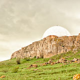 Observatory in the Crimean mountains Stock Photos