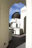 Observatory Dome. Viewed Through Archway Stock Image