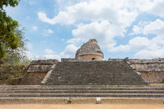 The Observatory El Caracol at the ancient Mayan ruins in Chichen Itza, Mexico Stock Photo