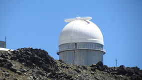 Observatory on Elbrus Royalty Free Stock Photo