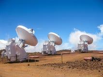 Mauna Kea Observatory Stock Image