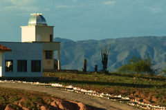 Observatory In The Desert Of Tatacoa In Colombia Royalty Free Stock Photography