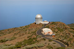 Observatory in La Palma Royalty Free Stock Images