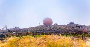 Observatory Lanzarote Royalty Free Stock Photos