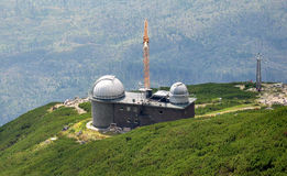 Observatory in the mountains, Slovakia, Europe Stock Photo